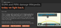Websites Protesting SOPA, PIPA image Reddit Blackout