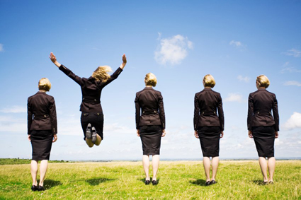 The Growing Power of Women in Business image Business women one jump1