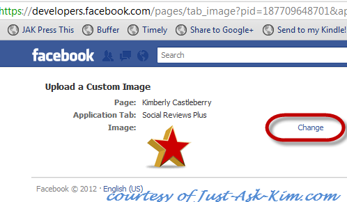 How To Change The Custom App Tab Images On Facebook image Facebook Pages Timeline Apps Images 3