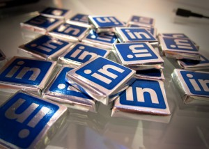 A CEO's Unintended Consequence of Joining LinkedIn image LinkedIn Chocolates 300x214