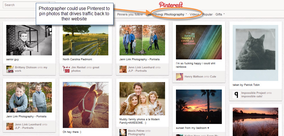 7 Ways to Use Pinterest to Promote Your Business image Pinterest for services