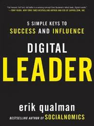 Erik Qualman, in a Q&A on His New Book, Digital Leader image Digital Leader front
