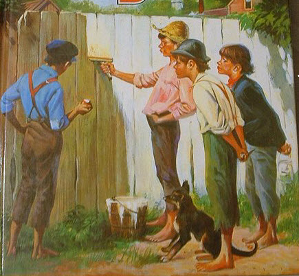 Tom Sawyer Fence - Inspirational Stories to Make You Feel Happier