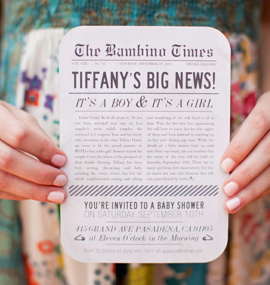 10 Cool Party Invitations We Found On Pinterest
