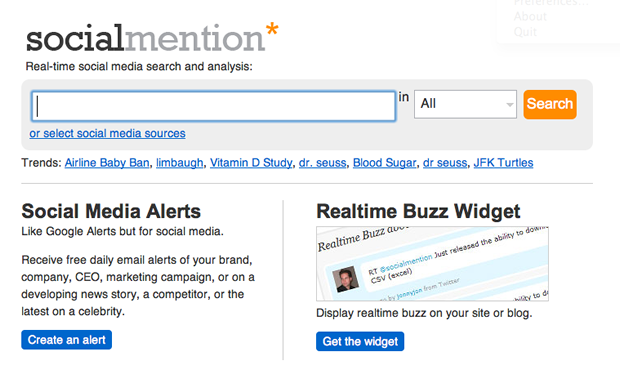 The Best Social Media Monitoring Tools For Your Brand image socialmention