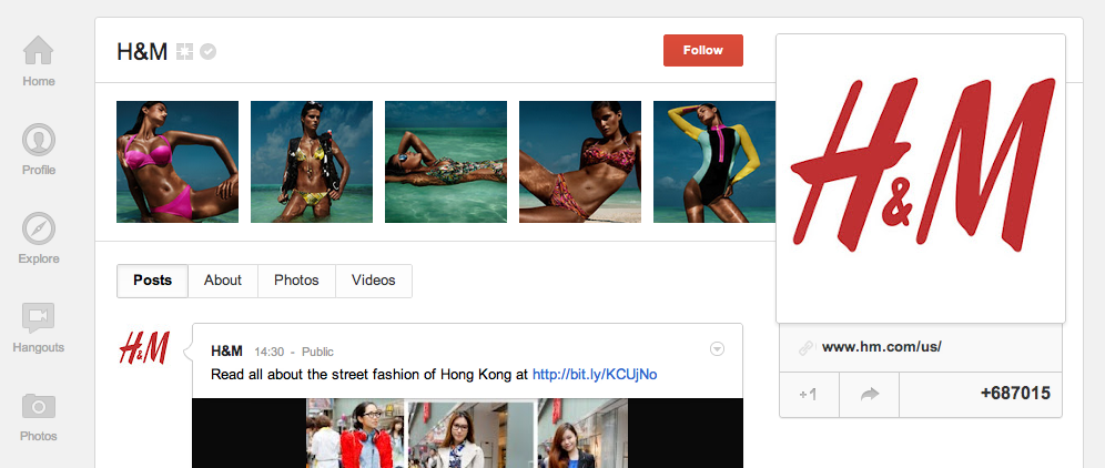 6 Brands & Businesses Effectively Using Google+ image Screen Shot 2012 05 07 at 16.26.28