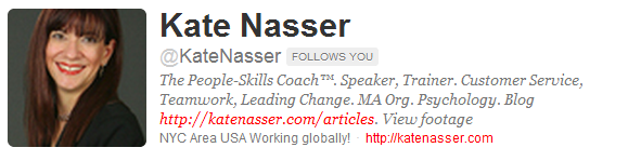 Pondering: Tips for a Fabulous Social Media Profile image kate nasser