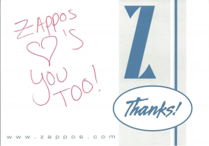 What Zappos.com Can Teach You about Turning Customers into Mega Fans image zapposimage3 300x210