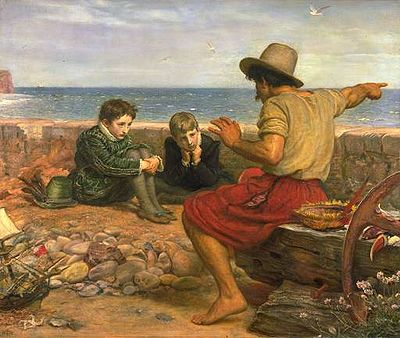 Presentations – Are You a Storyteller? image 400px Millais Boyhood of Raleigh