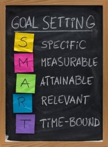 The Seven Business Drivers of A Social Media Strategy image SMART Goals 221x300