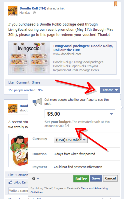 6 Brand New Facebook Page Changes You May Have Missed image doodle roll tm 103636