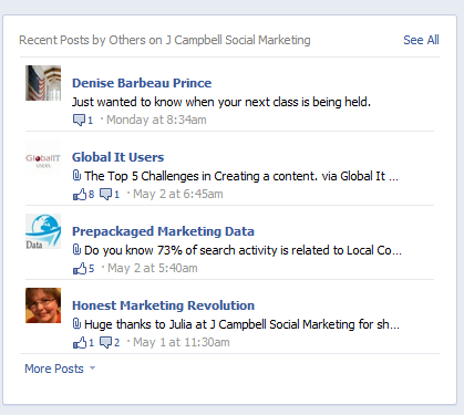 6 Brand New Facebook Page Changes You May Have Missed image j campbell social marketing 161600