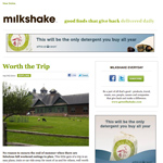 Curated Email Campaigns That Entice Subscribers image milkshake24