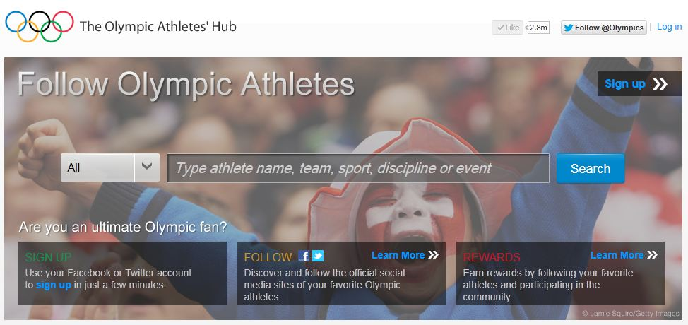Are You Ready for Summer (TV)? image olympic athletes hub helps find social accounts