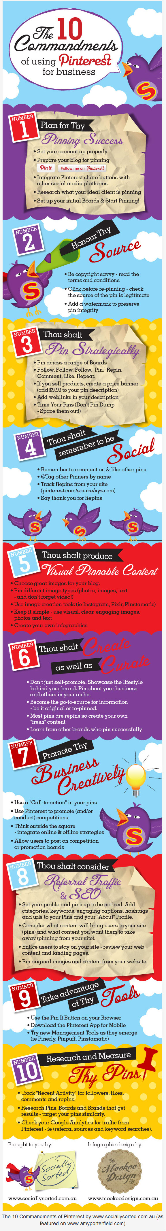 10 Top Tips for Marketing your Business on Pinterest infographic 10 Tips for Marketing your Business on Pinterest
