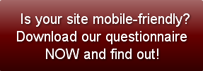 Is your Website Mobile Ready? Are You Part of the 90%? image is your site mobile friendly