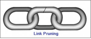 Link Pruning... What it is and When it is Necessary image chain links 300x129