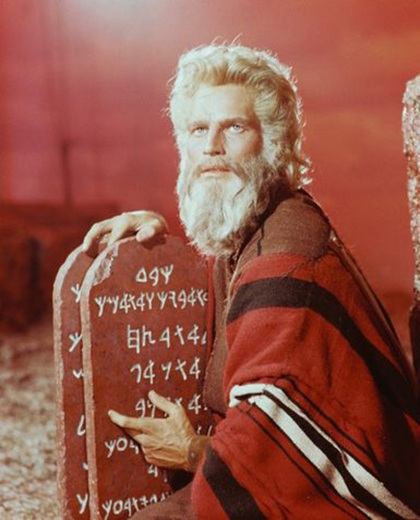The 10 Commandments for Nonprofit Websites image hestons ten commandments1