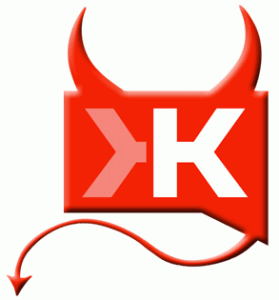 Klout, You Are An Evil Social Media Mistress. image klout devil 279x3001