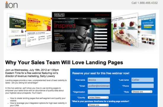 5 Ways to Use Dynamic Content on Landing Pages image progprofiling liveball