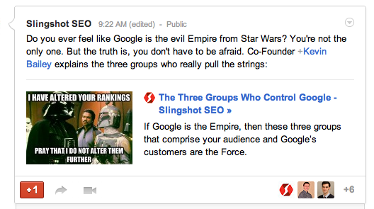 Best Practices For Achieving Critical Mass On Your Google+ Brand Page image Rich Snippets