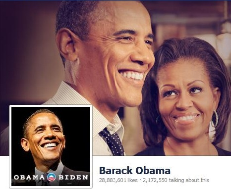 Obama vs. Romney: A Social Media Showdown By The Numbers image obama