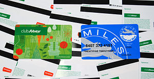 The Loyalty Card Misconception image 300px Sobeys Airmiles loyalty card 4284