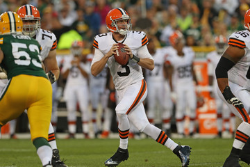Don't Play Down to the Browns Level Today, Giants image Brandon Weeden