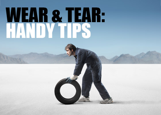 Wear and Tear: Handy Tips image Wear and tear handy tips