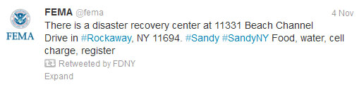 Start Spreading the News About NYC's Success in Using Social Media for Emergency Management image FEMA