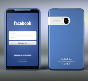 Do You Want a Facebook Phone? image Facebook phone concept Michal Bonikowski 300x275