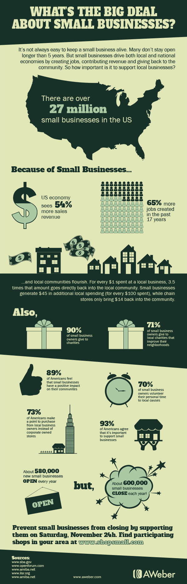 What's the Big Deal About Small Business? image Infographic small