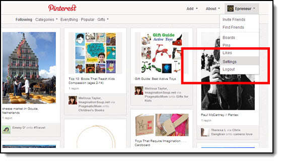 How To Verify Your Pinterest Account and Why You Should! image Pint 2