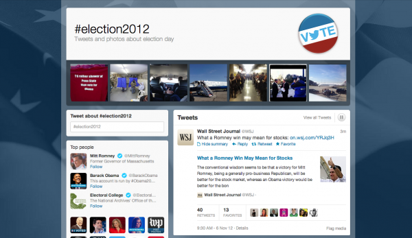 Politics and Social Media: Election 2012 image PresidentialElection2012Twitter 600x347