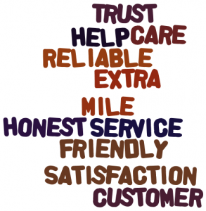 Customer Service Should be Your First Branding Exercise image Word Cloud1 293x300