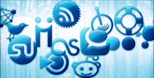 The Need Of Social Media Intelligence in India image blue jelly social media icons