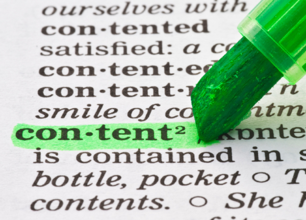 Five Rules to Create Great Content for Your Newsletter, Blog, and Social Media image content marketing
