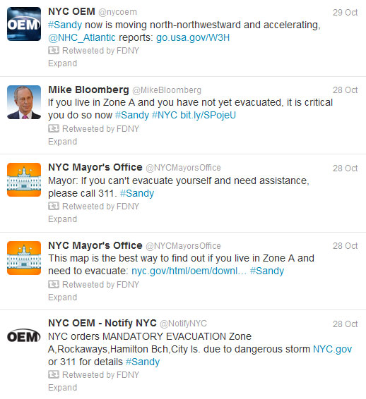 Start Spreading the News About NYC's Success in Using Social Media for Emergency Management image prestorm