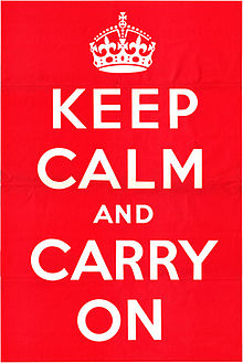 Keep Calm and Carry On Meme
