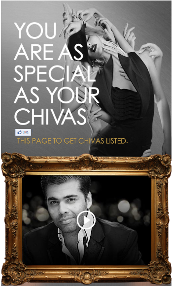 39 Best Indian Facebook Campaigns Of 2012 image Chivas get listed app1