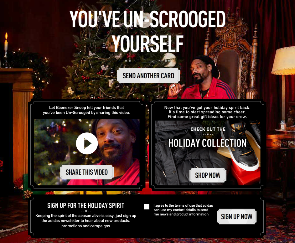 Snoop Dogg Gets Seasonal with Adidas—And I Get Nostalgic with Blast from the Past Snoop TV Cameos image Ebenezer Scrooge SNoop 46