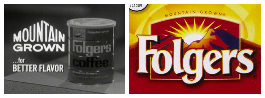 The Great American Coffee Phenomenon: How and Why We Buy Into It image Folgersmountaingrown1