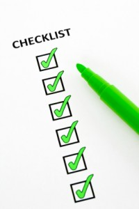 Image of green checklist