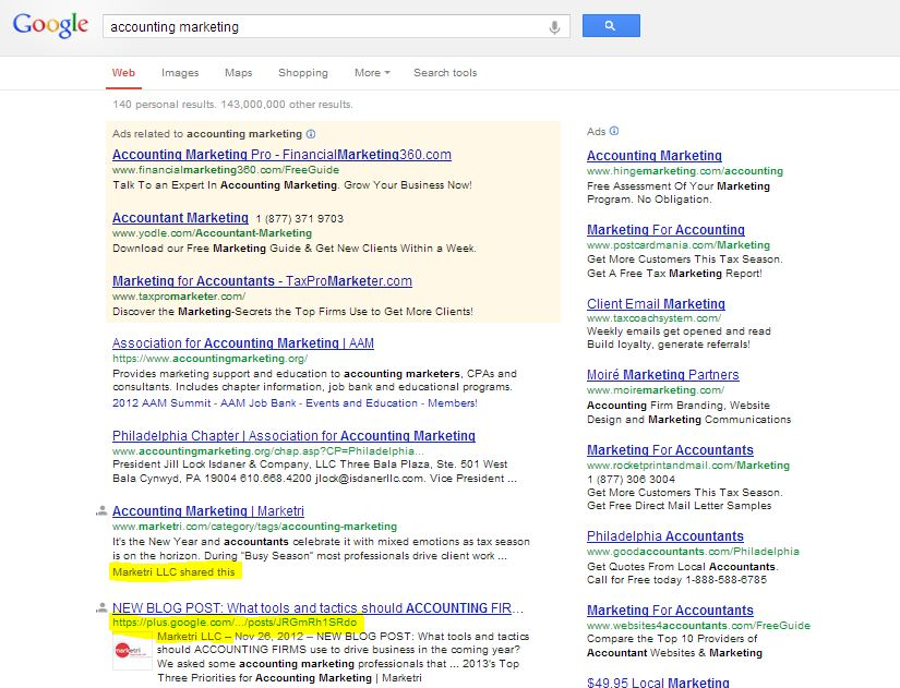 Google+ and SEO: How G+ Can Optimize Your Content and Improve Search Results in 5 Easy Steps image google seo impact