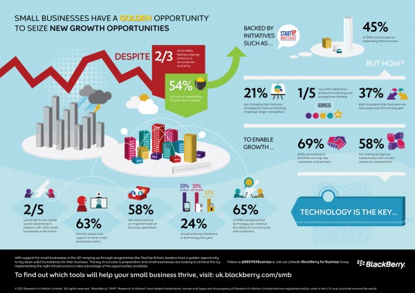 10 Awesome Infographics for Small Business image SMB Infographic 600x424