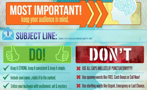 Email Best Practices - Marketing Infographic