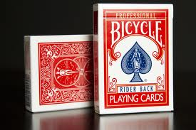 Does Everybody Need a Social Media Strategy? image bicycle playing cards