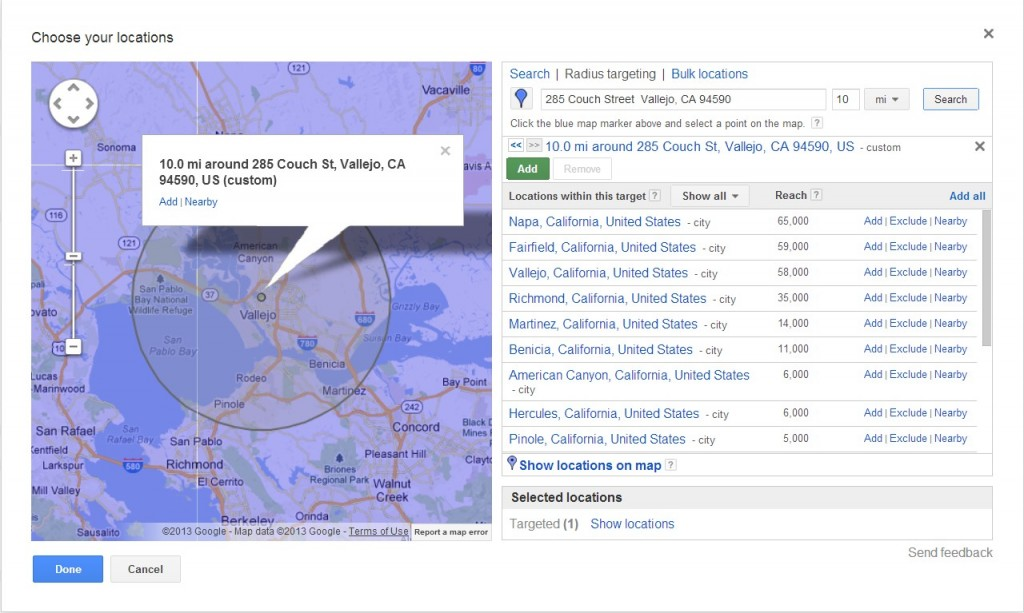 5 Google Adwords Tips for a Small Budget image geolocation1 1024x613