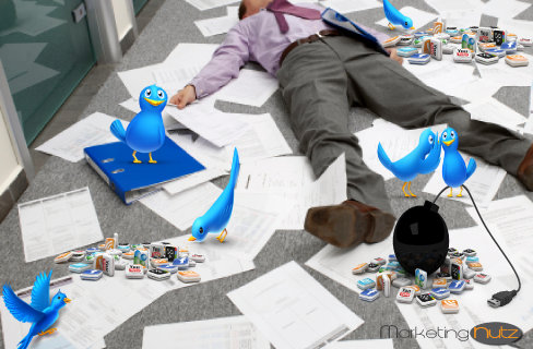 Twitter Survival Guide & 15 Must Do Tips for the CEO, CMO, CTO, CIO image get a grip guy
