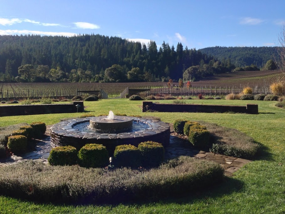 Wine Tasting Along the Anderson Valley Wine Trail   Part 2 image goldeneye patio view1